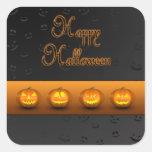 Jack-o-Linterna de las calabazas de Halloween - pe