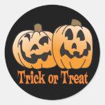Jack-O-Linterna del feliz Halloween Pegatinas