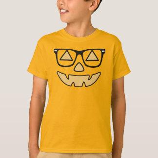 Jack-O-Linterna del vintage con la camiseta de los Playera