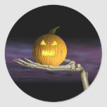 Jack-o-Linterna - pegatinas de Halloween