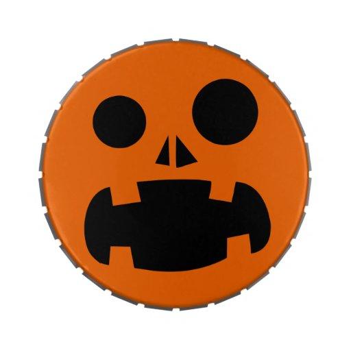 Jack-O-Linterna personalizada de Halloween Jarrones De Caramelos