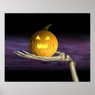 Jack-o-Linterna - poster de Halloween