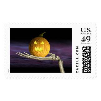 Jack-o-Linterna - sellos de Halloween