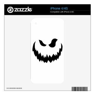 Jack-O-Linterna sonriente Skins Para iPhone 4S