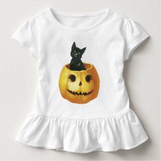 Jack-o-Linterna y gato de Halloween T-shirt