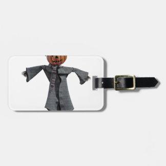 Jack O Scarecrow Bag Tag