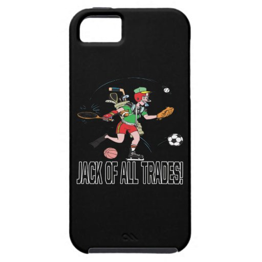 Jack Of All Trades 2 iPhone 5 Case