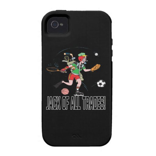 Jack Of All Trades 2 Vibe iPhone 4 Cases