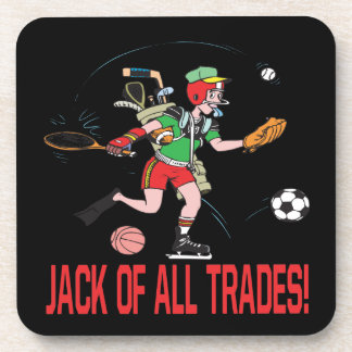 Jack Of All Trades Beverage Coaster