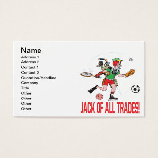 Jack Of All Trades Business Card