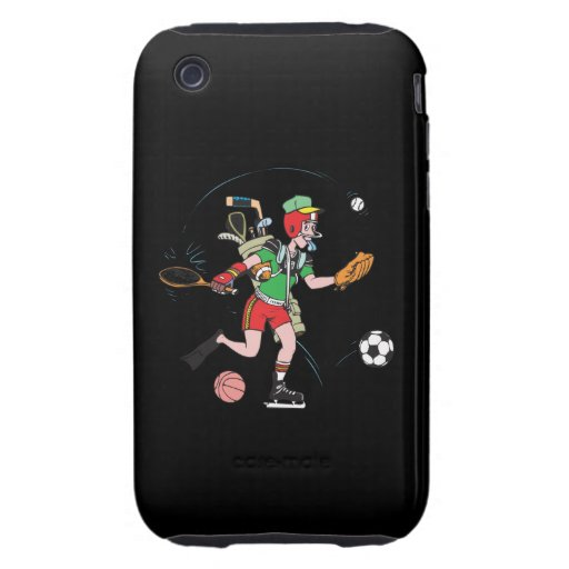 Jack Of All Trades Tough iPhone 3 Case