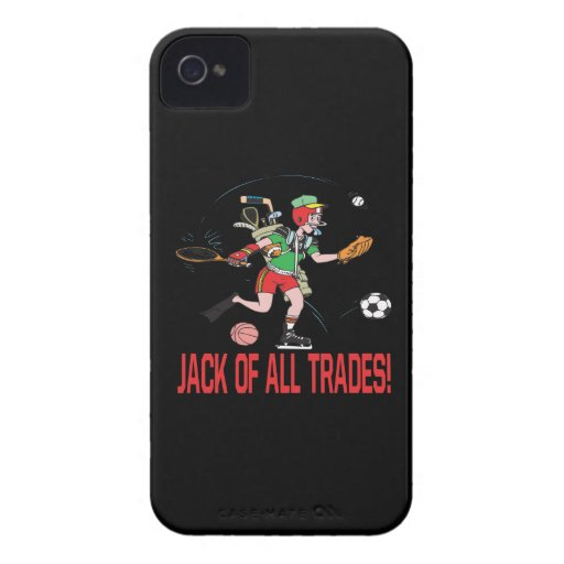 Jack Of All Trades iPhone 4 Case-Mate Cases