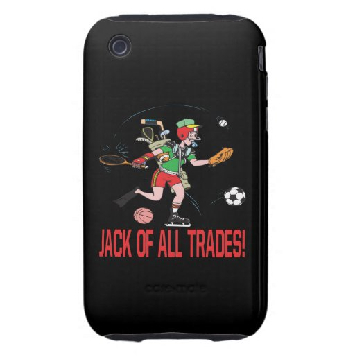 Jack Of All Trades iPhone 3 Tough Covers