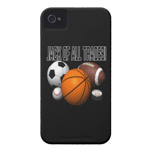 Jack Of All Trades iPhone 4 Covers