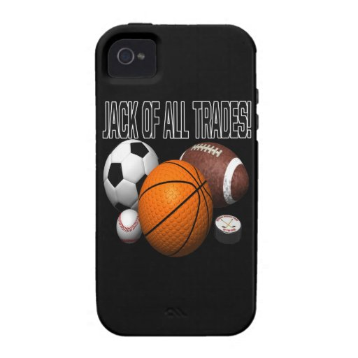 Jack Of All Trades iPhone 4 Cover