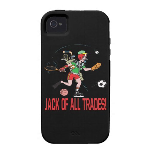 Jack Of All Trades iPhone 4/4S Case