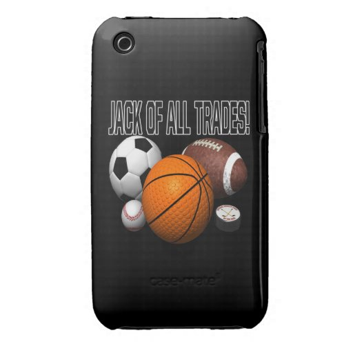Jack Of All Trades iPhone 3 Case-Mate Case