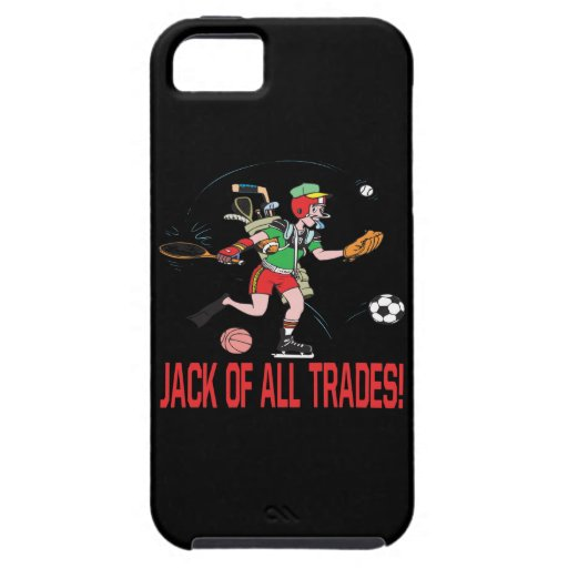 Jack Of All Trades iPhone 5 Cover