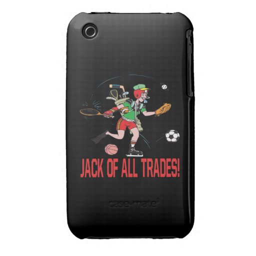 Jack Of All Trades iPhone 3 Case-Mate Cases