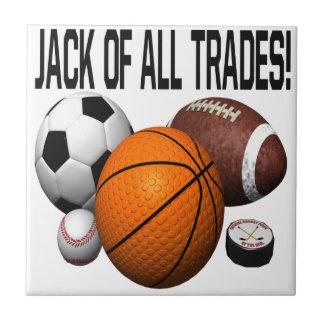 Jack Of All Trades Ceramic Tile