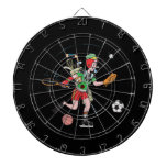 Jack Of All Trades Dartboard With Darts
