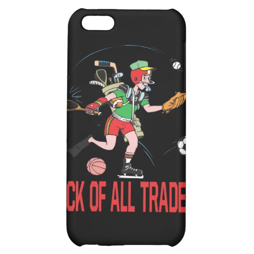 Jack Of All Trades iPhone 5C Covers