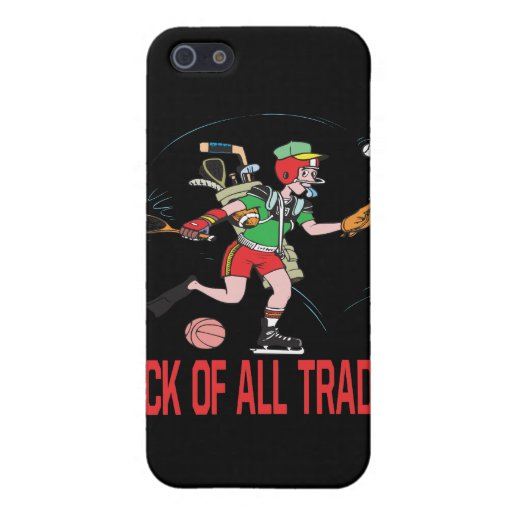 Jack Of All Trades iPhone 5 Covers
