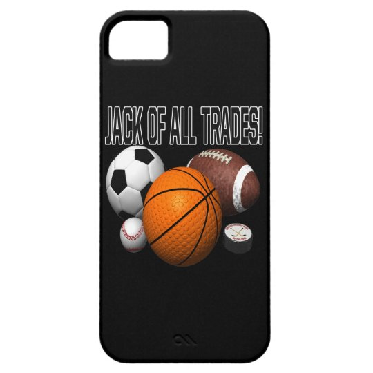 Jack Of All Trades iPhone SE/5/5s Case