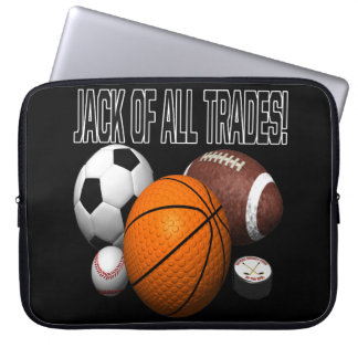 Jack Of All Trades Laptop Computer Sleeve