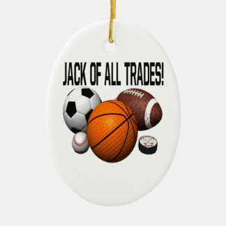 Jack Of All Trades Christmas Ornaments