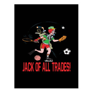 Jack Of All Trades Postcard