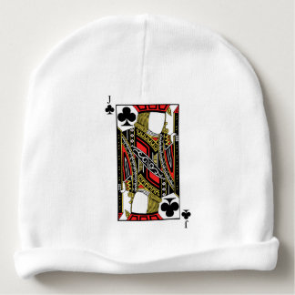 Jack of Clubs - Add Your Image Baby Beanie