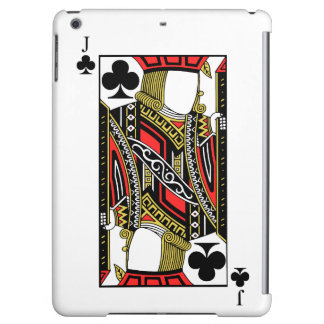 Jack of Clubs - Add Your Image iPad Air Cover