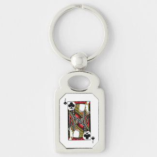 Jack of Clubs - Add Your Image Keychain