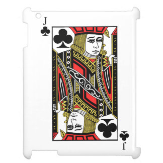 Jack of Clubs iPad Case