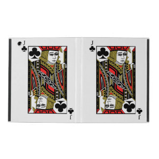 Jack of Clubs iPad Cover