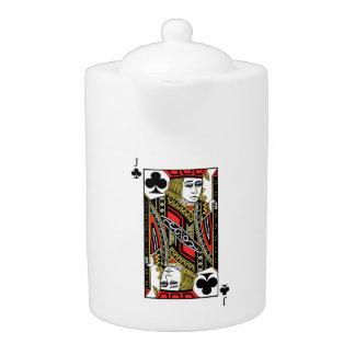 Jack of Clubs Teapot