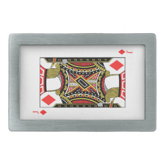 Jack of Diamonds - Add Your Images Belt Buckle