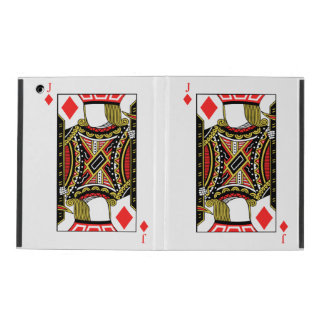 Jack of Diamonds - Add Your Images iPad Cover
