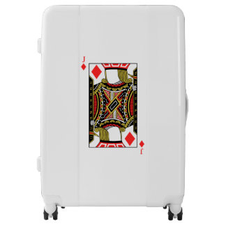 Jack of Diamonds - Add Your Images Luggage