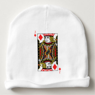 Jack of Diamonds Baby Beanie