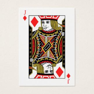 Jack of Diamonds Business Card