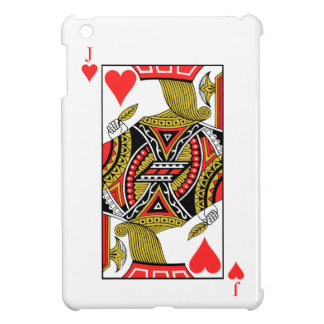 Jack of Hearts - Add Your Image Cover For The iPad Mini
