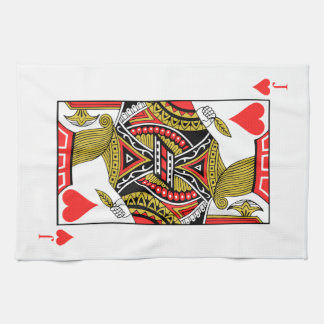 Jack of Hearts - Add Your Image Kitchen Towel