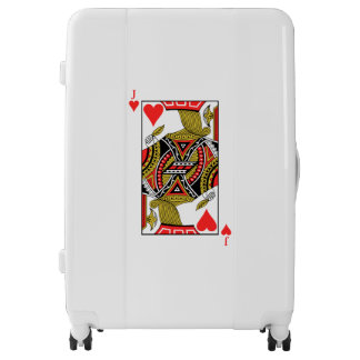 Jack of Hearts - Add Your Image Luggage