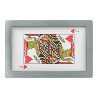Jack of Hearts - Add Your Image Rectangular Belt Buckle