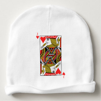 Jack of Hearts Baby Beanie
