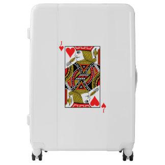 Jack of Hearts Luggage