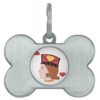 Jack Of Hearts Pet ID Tags
