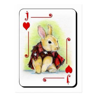 Jack of Hearts Postcard